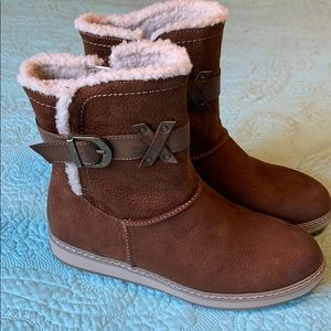 Like-new Brown Winter Boots